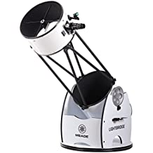 Meade Instruments LightBridge 16-Inch Truss Tube Dobsonian Telescope, Open Truss - Black (1645-05-03)