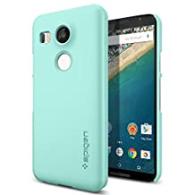 Nexus 5x Case, Spigen Thin Fit - Premium Matte Finish Coating Thin Case for Nexus 5x - Mint