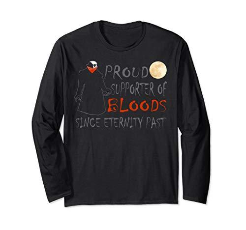 Scary Halloween Vampire Vlad Dracula Trick Or Treat Pun Long Sleeve T-Shirt]()