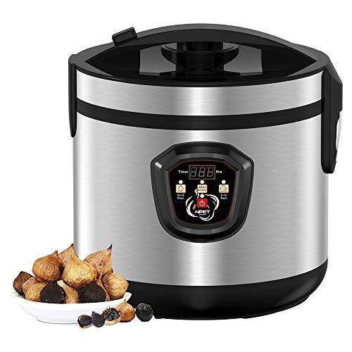 (NPET GF10 Black Garlic Automatic Fermenter, Black Garlic Roaster, Garlic Maker Box, Smart Fermentation Machine, Health Food Maker, Home/Kitchen Utensil, 5L)