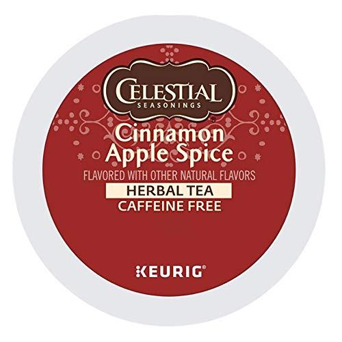 Celestial Seasonings Cinnamon Apple Spice, Keurig Single-Serve K-Cup Pods