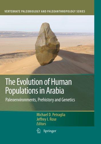 The Evolution of Human Populations in Arabia: Paleoenvironments, Prehistory and Genetics (Vertebrate Paleobiology and Paleoanthropology) Pdf