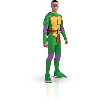 Aec CS928872/M - Disfraz de tortuga Ninja Donatello, talla M: Amazon ...