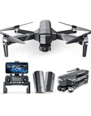 Ruko F11Gim Drones with Camera for Adults, 2-Axis Gimbal 4K EIS Camera, 2 Batteries 56Mins Flight Time,Brushless Motor, 5GHz FPV Transmission, GPS Auto Return Home, 5times Zoom No Fisheye