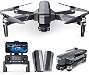 Ruko F11Gim Drones with Camera for Adults, 2-Axis Gimbal 4K EIS Camera, 2 Batteries 56Mins Flight Time,Brushle