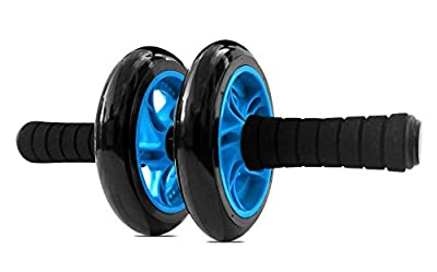 Garren Fitness Maximiza Ab Roller Wheel - Dual Wheel Abs Roller with Knee Pad for the Perfect Core Workout
