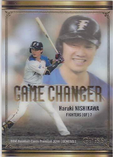 BBM2018 GENESIS GC05 40/50 西川 遥輝 (GAME CHANGER/北海道日本ハムファイターズ) ベースボールカード ジェネシス