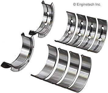 Enginetech BC409JSTD Main Bearings GM 4.8L 293 5.3L 325 5.7L 346 6.0L 364