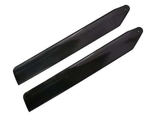 - Rakonheli 133mm Plastic Main Blade (Black) - Blade 130S