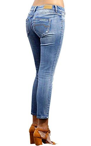 T Skinny Jeans Bleu Porter Ysland Femme Freeman C7pxOnq