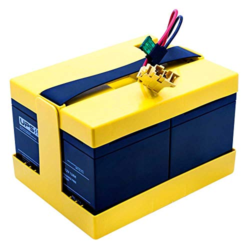 UPS Battery Center Compatible with/Replacement for Battery Pack Peg Perego 24V Yellow from UPS Battery Center