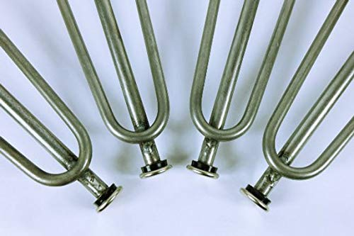 3 Bar Adjustable Hairpin Legs, Multiple Sizes, 3/8'' Solid Steel, Set of Four (4) (16 Inch)