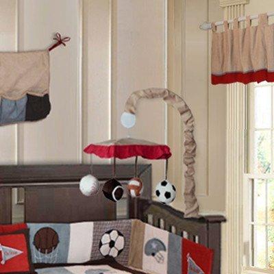 Go Team 10 Piece Sports Crib Bedding Set