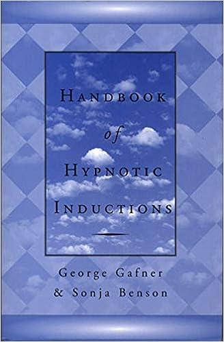 Handbook of Hypnotic Inductions (Norton Professional Books