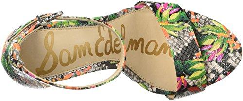 Sam Edelman Women's Yaro Heeled Sandal Bright Multi PI0acxU