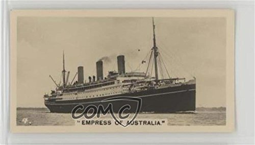Empress of Australia (Trading Card) 1928 Wills Ships and Shipping - Tobacco [Base] - Shipping Australia