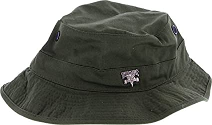Amazon.com   Thrasher Skategoat Pin Boonie Hat  Olive  S M   Sports ... e13d8b453c6