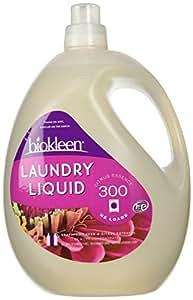 Biokleen Laundry Liquid, Citrus Essence, 150 Ounces