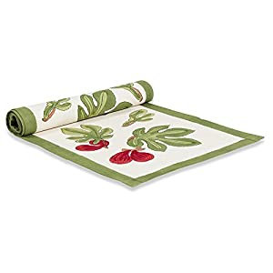 Couleur nature table runner 16 by 90 inch for 85 inch table runner