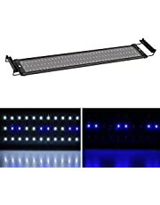 MLJ LED Aquarium Lights Aquarium Lighting 6W / 11W / 18W25W / 32W, with Adjustable Bracket Lamp 4Size (for Aquarium 70-90 cm, Blue or Blue & White)