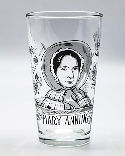 (Cognitive Surplus Heroes of Science: Mary Anning Pint Glass)