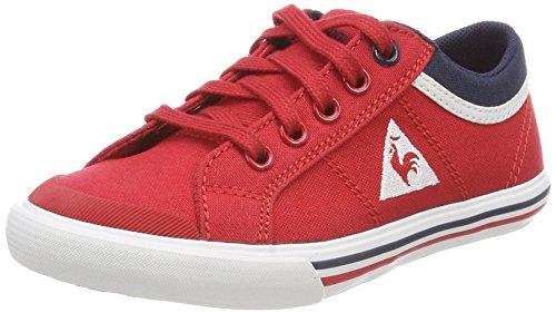 Le Coq Sportif Jungen Saint Gaetan GS Boy Cvs Sneaker Rouge (Vintage Red/Dress Bl)