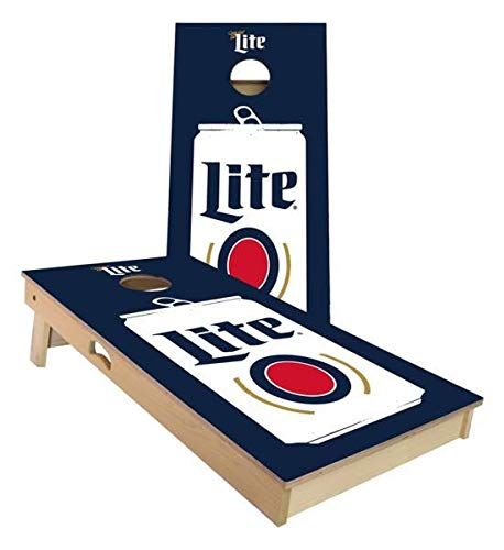 Skip's Garage Miller Lite ビール コーンホールボードセット ビール ビール サイズ アクセサリー ボード2枚 バッグ8枚など B07N45H91N B. 2x3 Boards (All Weather Bags)|A.付属品なし  B. 2x3 Boards (All Weather Bags), アマガセマチ df55c129