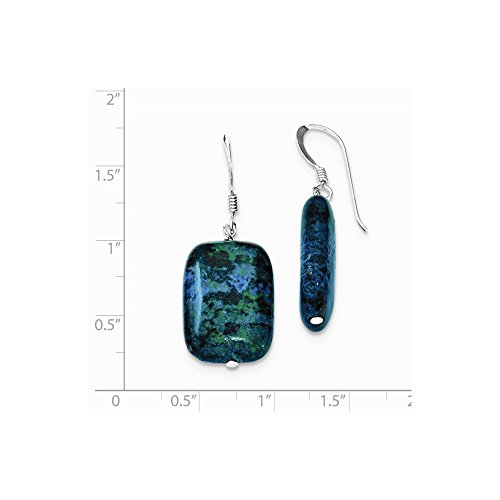 Buy jewelryweb sterling silver chrysocolla earrings