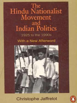 - Hindu Nationalist Movement and Indian Politics, 1925 to the 1990's by Christophe Jaffrelot (1999-01-03)