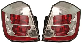 Nissan Sentra Tail Light - Left & Right Rear / Back Tail Lamps CHR
