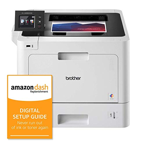 Buy Brother Business Color Laser Printer, HL-L8360CDW, Wireless Networking, Automatic Duplex Printin...
