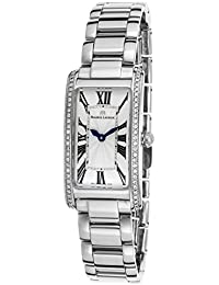 Fa2164-Sd532-118 Womens Fiaba Diamond Stainless Steel Silver-Tone Guilloche Dial Watch