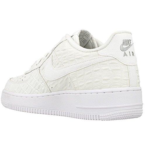 Nike Kids Air Force 1 Premium (gs) Scarpa Da Basket Bianca / Bianca