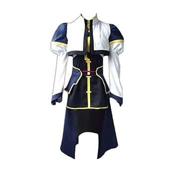 Magical Girl Lyrical Nanoha Cosplay Costume - Hayate Yagami Combat XX-Large