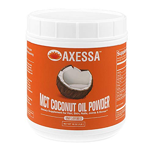 Axessa MCT Coconut Oil Powder