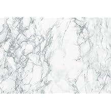 "d-c-fix 346-8306 Decorative Self-Adhesive Film, Grey Marble, 26""x78"" Roll"