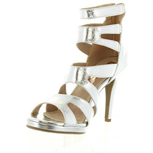 Sandali per Donna XTI 30613 METALIZADO PLATA