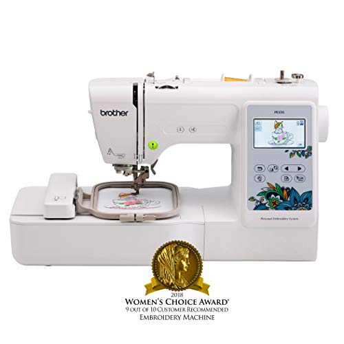 Great Features Of Brother Embroidery Machine, PE535, 80 Built-In Designs, Large LCD Color Touchscree...