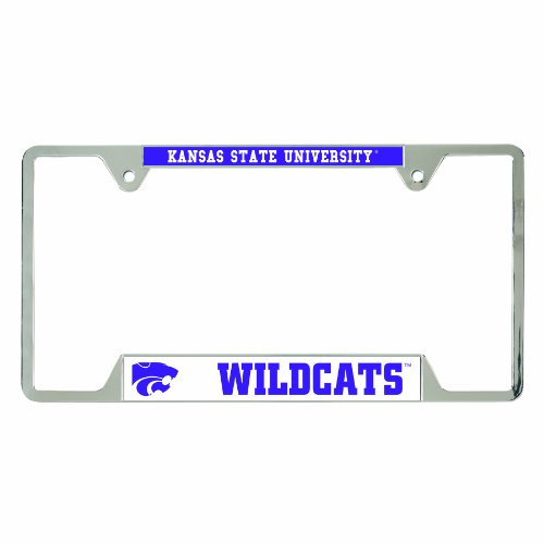 WinCraft NCAA Kansas State Wildcats License Plate Frames, 21566010 (License Plate Frame Kansas State compare prices)