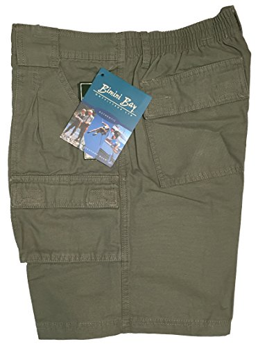 Bimini Bay Outfitters Outback Hiker Cotton Cargo Short 31201 Olive 36
