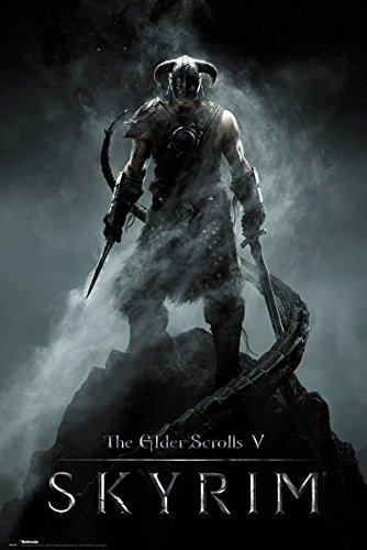 The Elder Scrolls V: Skyrim - Gaming Poster/Print (Dragonborn)