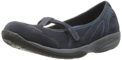 Easy Spirit Da Donna Lena Mary Jane Flat Navy