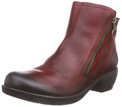 Fly Meli Bottes Red Femme London Rouge W0rp4wU0q