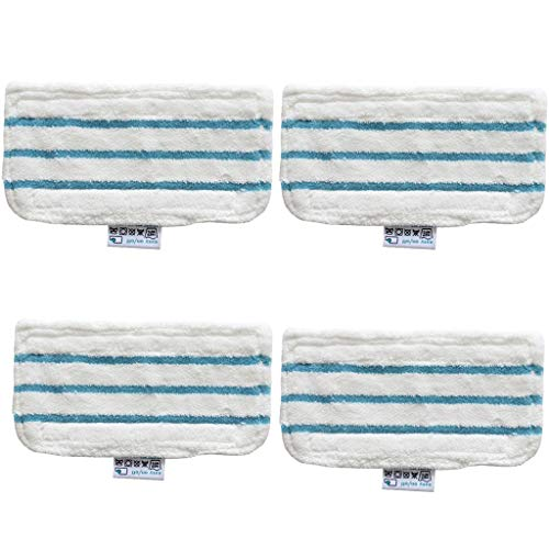 Finedayqi ❤ 4 x Floor Washable Replacement Cleaner Steam Mop Pads for Black and Decker FSM16