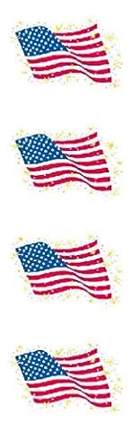 Mrs Grossman's Stickers - Independence Day Assortment - Mrs Grossmans Sticker Strips