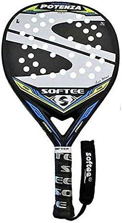 Softee 0013924 Pala Padel Potenza, Blanco, S