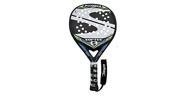 Softee 0013924 Pala Padel Potenza, Blanco, S: Amazon.es: Deportes ...