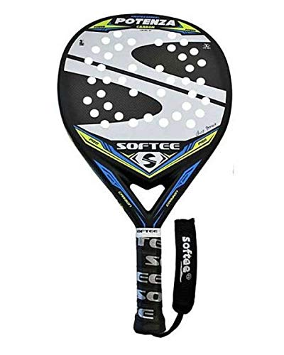 Softee 0013924 Pala Padel Potenza, Blanco, S: Amazon.es ...