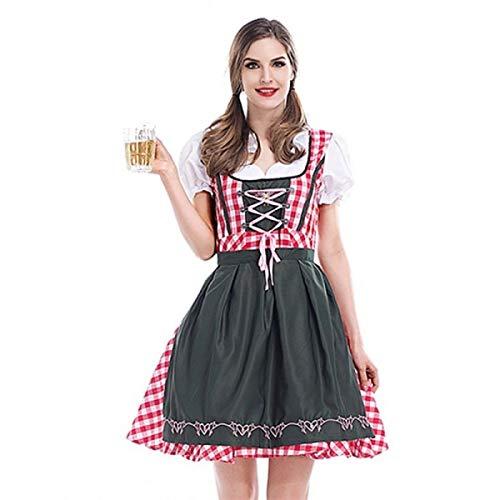Bar Maid Oktoberfest Fancy Dress Costume UK 10-12
