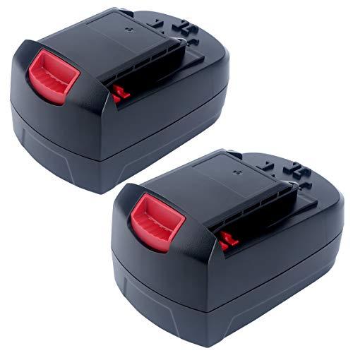 Epowon 2Packs 18-Volt Ni-Cd Battery 3000mAh Replacement for SKIL SB18C SB18A SB18B 2810 2888 2895 2897 2898 4570 5850 5995 7305 9350 Cordless Drill Tools